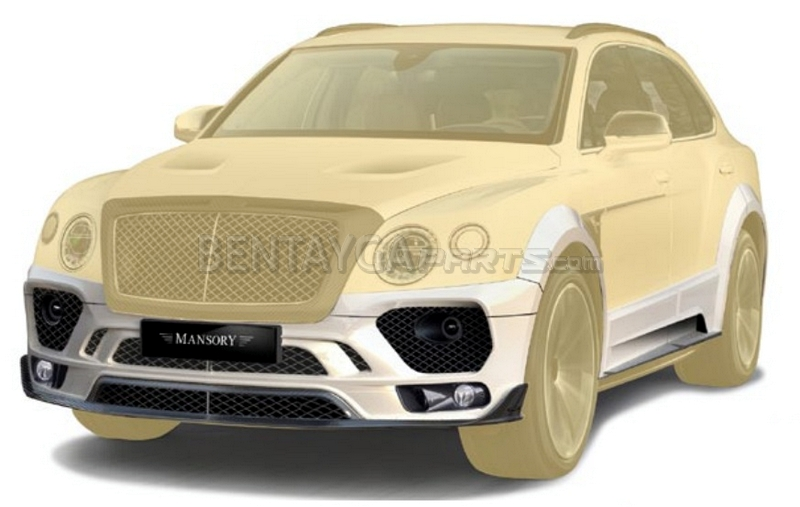 MANSORY Wide Body Kit (car with towbar without radar) for Bentley Bentayga