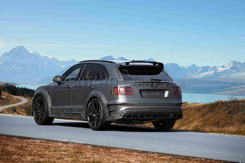 MANSORY Wide Body Kit (car with towbar and radar) for Bentley Bentayga