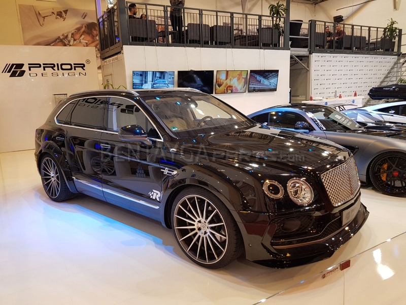 PDXR Widebody Front and Rear Widening for Bentley Bentayga
